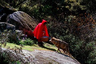 red riding hood modern version